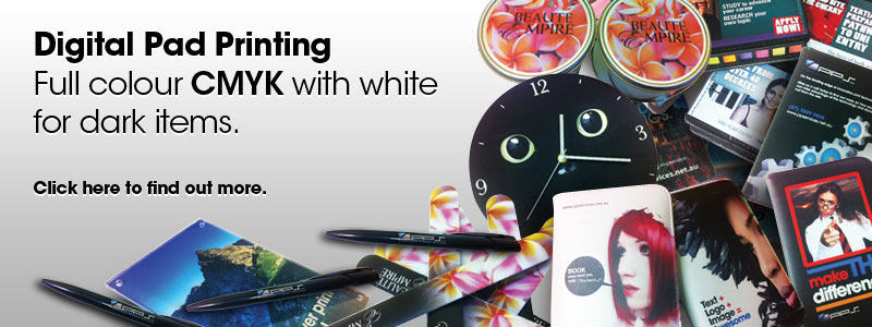 Digital Pad Printing
